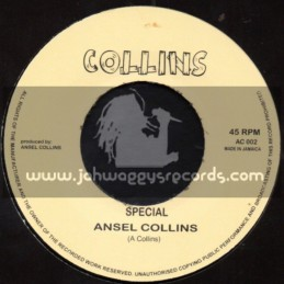 """Collins-7""""-Special / Ansel Collins + Conscious Man / The Jolly Brothers"""