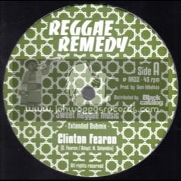 "Reggae Remedy-12""-Sweet Reggae Music + In Your Heart / Clinton Fearon"