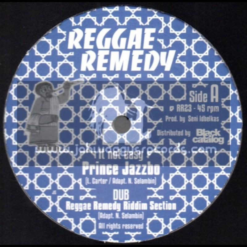 "Reggae Remedy-12""-Its Not Easy / Prince Jazzbo + The Saints / Prince Jazzbo & Mike Brooks"