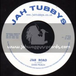 """Jah Tubbys-7""""-Jah Road / Dixie Peach"""