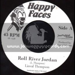 "Happy Faces-7""-Roll River Jordan / Linval Thompson"