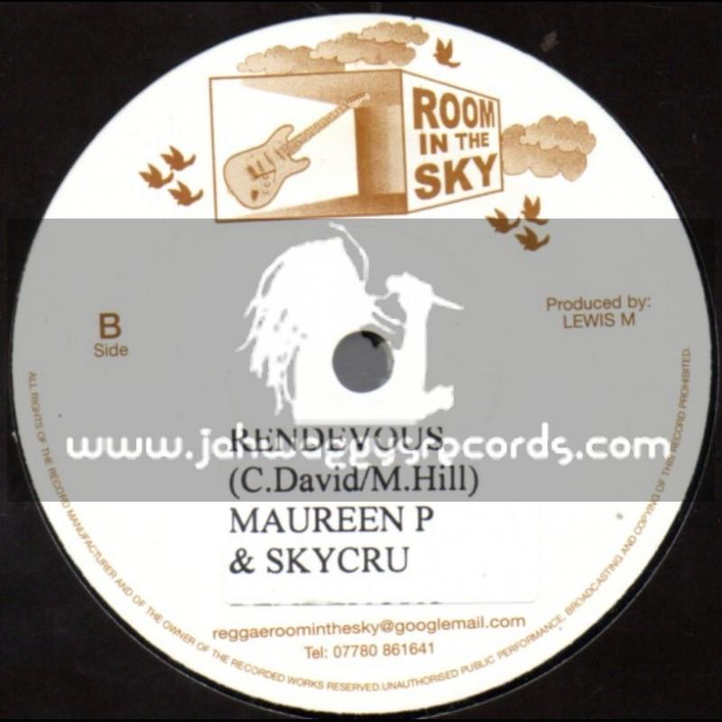 """Room In The Sky-7""""-Rendevous / Maureen P & Skycru"""