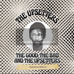 Hot Milk-LP-The Good The Bad And The Upsetters / Jamaican Edition - Lee Scratch Perry