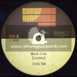 """Conscious Embassy Records-12""""-World Crisis / Luciano"""