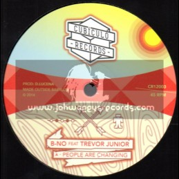 """Cubiculo Records-12""""-People Are Changing / Trevor Junior"""