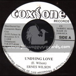 "Coxsone Records-7""-Undying Love / Ernest Wilson"