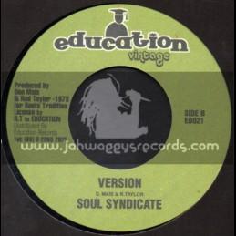 "Education Vintage-7""-True History / Rod Taylor"