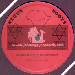 """Negus Roots-12""""-Government Man / Lackley Castell"""
