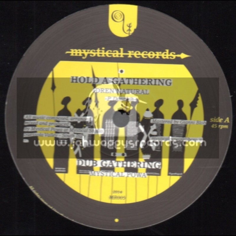 """Mystical Records-12""""-Hold A Gathering / Idren Natural + In HIM / Addis Pablo"""