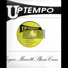 "Up Tempo-10""-Test Press-Sugar Minott - Showcase"