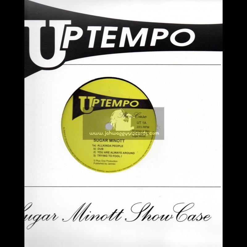 """Up Tempo-10""""-Test Press-Sugar Minott - Showcase"""