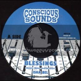 "Conscious Sounds-7""-Blessings / Isha Bel"