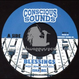 "Conscious Sounds-7""-Blessings / Isha Bel"