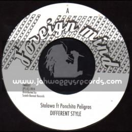 "Foreign Mind-7""-Different Style / Stalawa Ft. Ponchita Peligros"