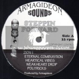 Armagideon Sounds-Lp-Steppin Forward / Armagideon Sounds