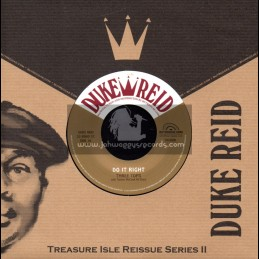 """Duke Reid-7""""-Do It Right / Three Tops With Tommy McCook All Stars"""