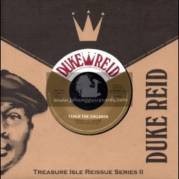 "Duke Reid-7""-Teach The Children + Wake Up Jamaica / Dennis Alcapone With Tommy McCook All Stars"