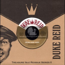 """Duke Reid-7""""-Crying Every Night / Stranger Cole + Mighty Alley / Tommy McCook & The Supersonics"""