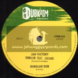 "Dubkasm Records-12""-Jah Victory / Dubkasm Feat. Luciano + Right There / Dubkasm Feat. Turbulence"