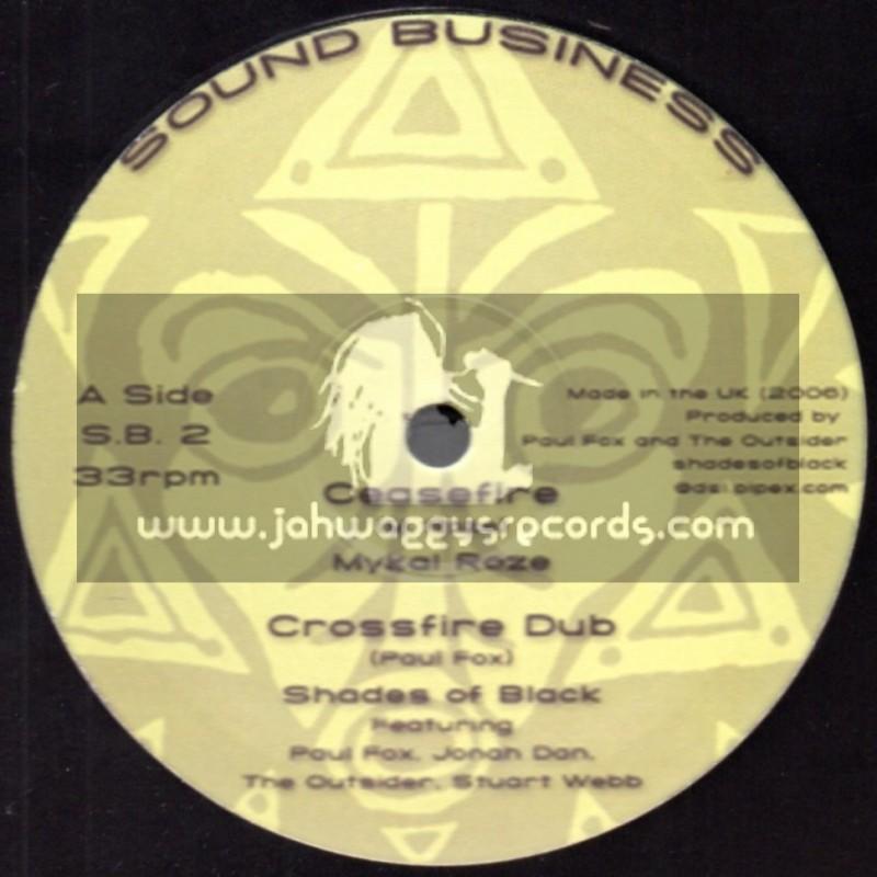 "Sound Business-10""-Ceasefire / Mykal Roze + Poverty / Paul Fox"