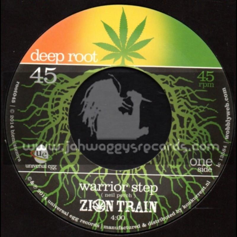 """Deep Root - 7"""" - Warrior Step / Zion Train"""