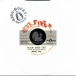 """Soul Fire Records-7""""-Poor Man Cry / Marcus Reid"""