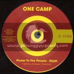 "One Camp-7""-Power To The People + Eui Liste / Elijah"