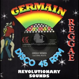 "Germain Disco 45-7""-Greedy Woman / Cultural Roots"