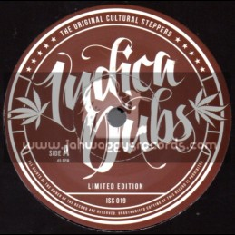 """Indica Dubs-7""""-Talk To Me / Judy Green - Alpha And Omega Remix - Limited Edition"""