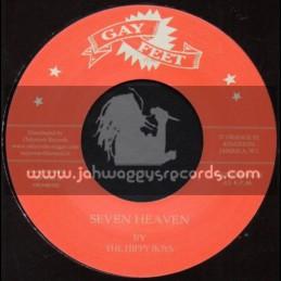 """Gay Feet-7""""-Seven Heaven / The Hippy Boys + Scaramouche / Bobby Atken"""