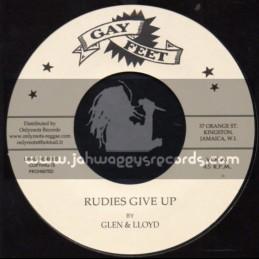 "Gay Feet-7""-Rudies Give Up / Glen & Lloyd + Orange Street Special / Bobby Aiken And The Carib Beats"