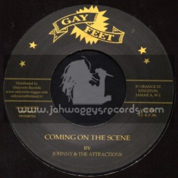 """Gay Feet-7""""-Coming On The Scene + Call Of Drums / Johnny And The Attracions"""