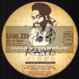 """Roots Vibes-12""""-Go To Zion / Earl Zero + Zions Blood / Mam-Lee Perry & The Upsetters"""