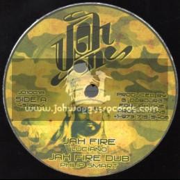 "Jah One-10""-Jah Fire / Luciano + What Mek Them Gwaan So / Tony Tuff"