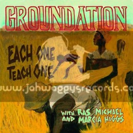 Soulbeats Records-Double-LP-Each One Teach One / Groundation With Ras Michael And Marcia Higgs