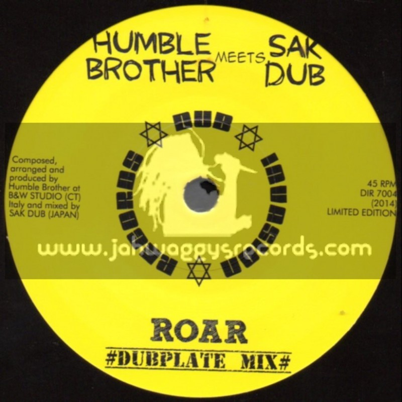 "Dub Invasion Records-7""-Roar Dubplate Mix / Humble Brother Meets Sak Dub"