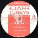 """Jah Tubbys-Test Press-10""""-Heathens / Sandeeno (Conscious Sounds) + Jah Ragga Dubplate"""