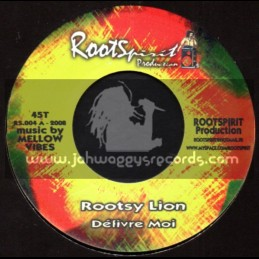 "Roots Spirit Production-7""-Delivre Moi / Rootsy Lion"