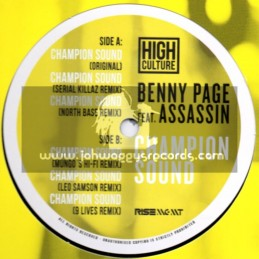 """High Culture Records-12""""-Champion Sound / Benny Page Feat. Assassin"""