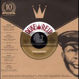 """Duke Reid-7""""-Travelling Man / The Techniques + Dreads Leaving Babylon / Errol Brown"""