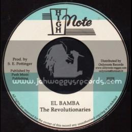 "High Note-7""-El Bamba / The Revolutionaries"