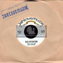 "Jahlovemuzik-7""-Bad Intention / Israel Vibration"