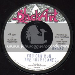 """Black Art-7""""-You Can Run / The Hurricanes + You Can Dub / The Upsetters"""