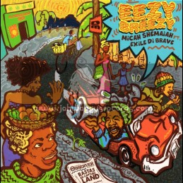 """Descendant Music-7""""-Eezy Breezy / Micah Shemaiah Feat. Exile Di Brave"""