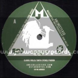 "Amj-12""-Heartbeat + Blue Mountain Dub / AMJ Meets RSD"