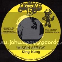 """Massive B-7""""-Missin Africa / King Kong + Informa / Kharri Kill"""