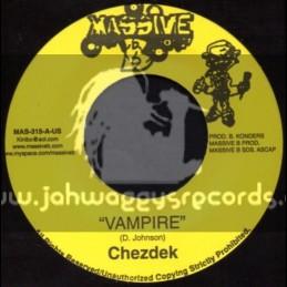 "Massive B-7""-Vampire / Chezedek + Informa / Kharri"