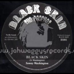 "Black Skin The Prophet-7""-Black Skin / Sonny Washington"