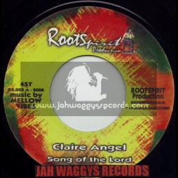 """ROOTS SPIRIT PRODUCTION(MELLOW VIBES)-7""""-SONG OF THE LORD / CLAIRE ANGEL"""