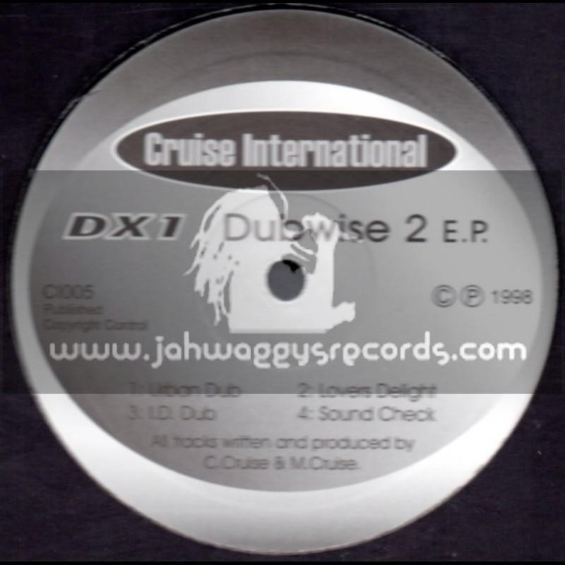 Cruise International Records-12EP-Urban Dub + Lovers Delight + I.D Dub & Sound Check / Cruise International